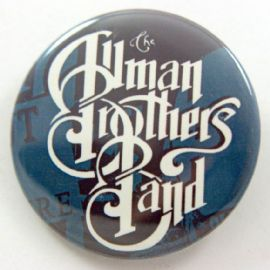 The Allman Brothers Band - 'Logo' Large Button Badge